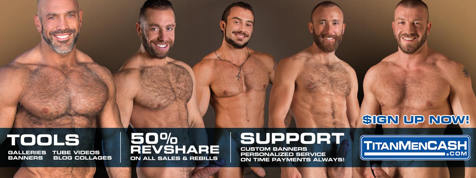 Affiliate Porn Program titanmencash affiliate program - promote hd gay porn!